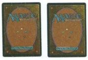 Magic MTG 1x City of Brass HP PLAYED FBB Italian Renaissance (2 available) back