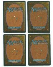 Magic MTG 1x Strip Mine FBB Italian Rinascimento Vintage www_MoxBeta_com back