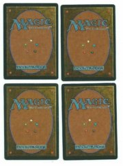 Magic MTG 4x FBB Disrupting Sceptre Playset foreign black border MoxBeta_com back