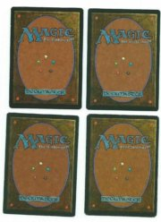 Magic MTG 4x Hypnotic Spectre FBB Foreign Playset German Italian Chinese Spanish back