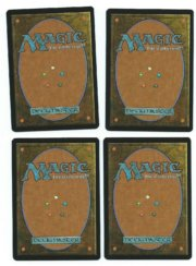 Magic MTG 4x Teferi's Puzzle Box FOIL 8th Eight Edition Playset www_MoxBeta_com back
