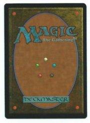 Magic MTG Sinbad Korean FBB 4th edition MISPRINT Mana Error 1995 Gathering Card back