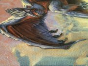 Magic MTG Pit Raptor Original Artwork detail