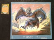 Magic MTG Pit Raptor Original Artwork painting