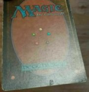 Magic MTG FBB Scrubland #1 French front surface
