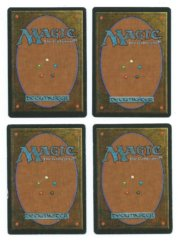 Magic MTG FBB Swords to Plowshares signed back
